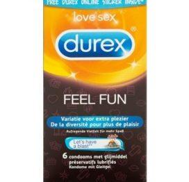 Durex Emoji Feel Fun - 6 stuks - Durex