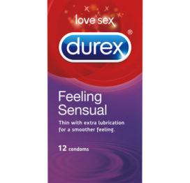 Durex Feeling Sensual Condooms 12 Condooms - Durex