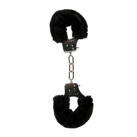 Bonten handboeien - zwart - Easytoys Fetish Collection