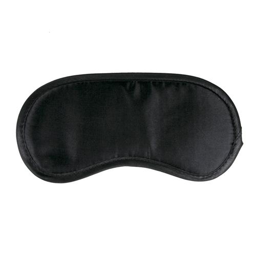 Zwart satijnen oogmasker - Easytoys Fetish Collection