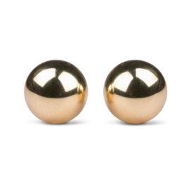 Easytoys Ben Wa Ballen 22mm - Goudkleurig - Easytoys Geisha Collection