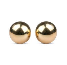 Easytoys Ben Wa Ballen 25 mm - Goudkleurig - Easytoys Geisha Collection