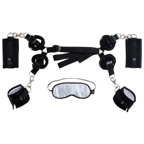 Hard Limits - Under The Bed Restraints Kit - Fifty Shades of Grey