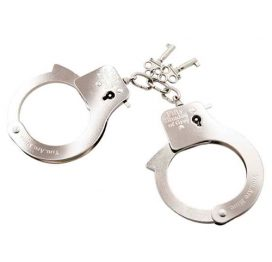 You are Mine - Metal Handcuffs - Fifty Shades of Grey