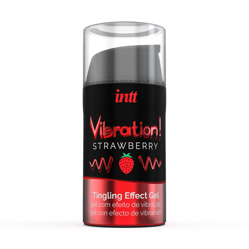 Vibration! Strawberry Tintelende Gel - INTT