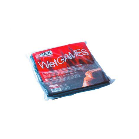 SexMAX WetGAMES Laklaken 180 x 220 cm - Zwart - Joydivision