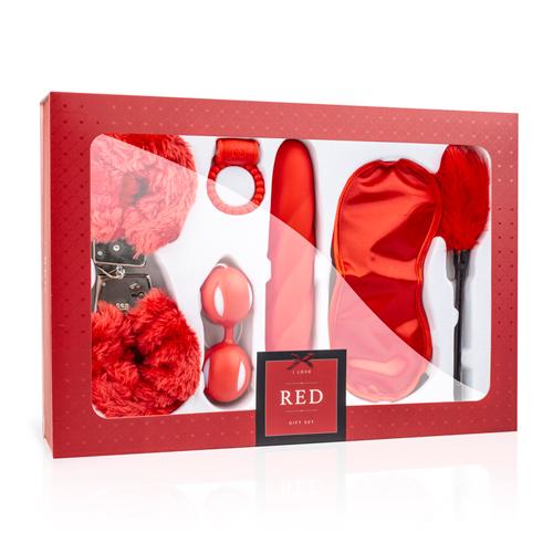 LoveBoxxx - I Love Red Couples Box - LoveBoxxx