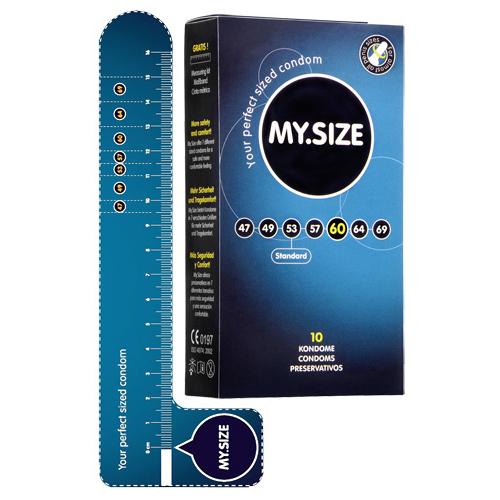 MY.SIZE 60 mm Condooms 10 stuks - My.Size