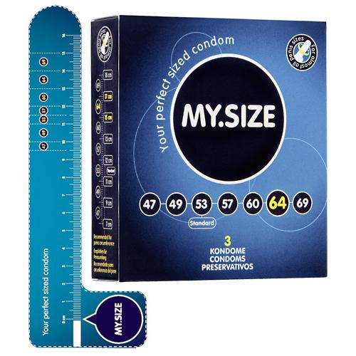 MY.SIZE 64 mm Condooms 3 stuks - My.Size