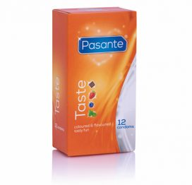 Pasante Taste Condooms - 12 Stuks - Pasante