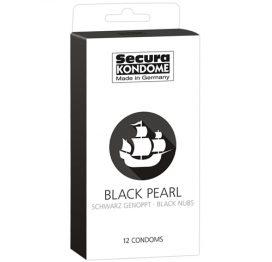 Secura Black Pearl Condooms - 12 Stuks - Secura Kondome