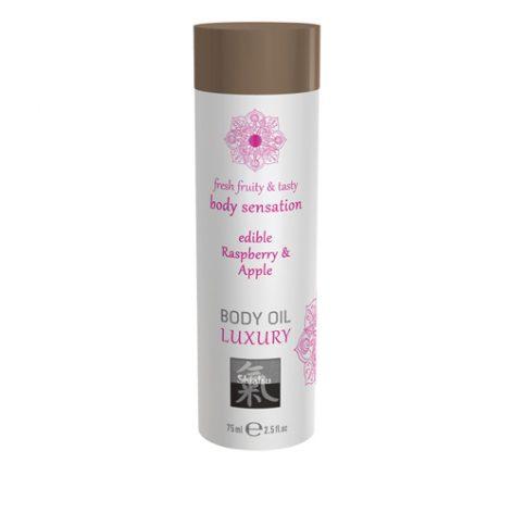 Luxe Eetbare Body Oil - Framboos & Appel - Shiatsu