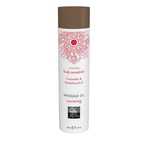 Verwarmende Massage Olie - Koriander & Sandelhout - Shiatsu