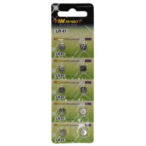 Knoop Batterijen - 10 stuks (LR41) - You2Toys